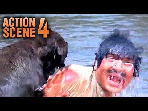 Moti(Dog) Take His Master's Murder Revenge | Teri Meherbaniyan | Jackie | Action Scene 4 Of 6 | HD