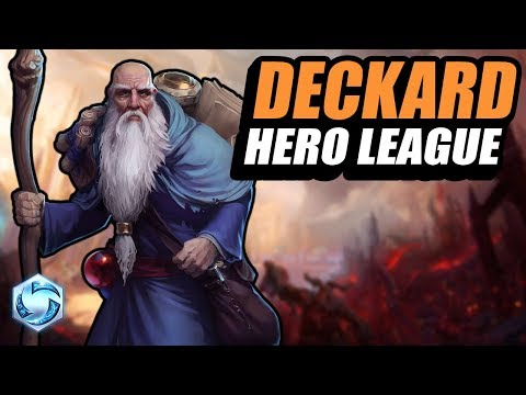Deckard Cain - HL gameplay! // Road to Grandmaster // Heroes of the Storm