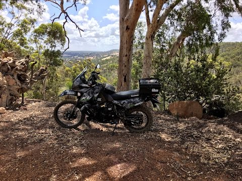 ADV riding around the Moondyne and Julimar forests near Perth Western Australia