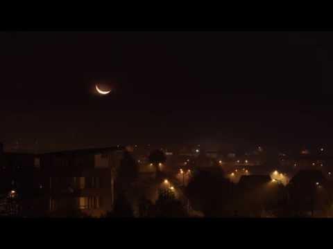 timelapse 4ª piso luna villarrica smog 7 de julio