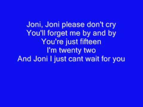 DONT CRY JONI BY CONWAY TWITTY