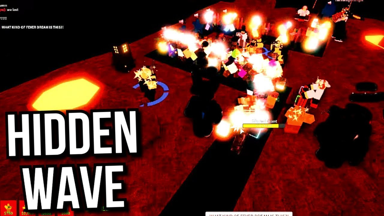 Hidden Wave Theory Tower Defense Simulator Roblox Youtube