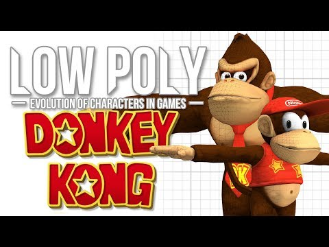 Donkey Kong - Low Poly feat. Shesez & Beta64 - Episode 5