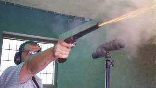 Shooting a Billinghurst Black Powder Muzzleloading Target Pistol