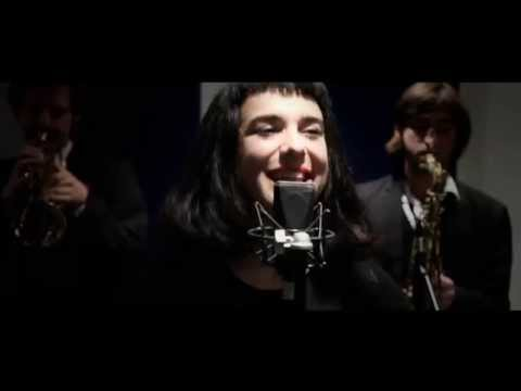 Maya & The Brassberries - Afro Blue (vocal brass band cover)