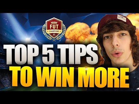 TOP 5 TIPS TO WIN MORE GAMES ON FUT CHAMPIONS - FIFA 18 ULTIMATE TEAM