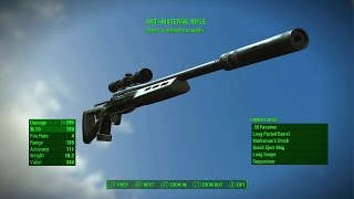 Fallout 4 - TWO SHOT SNIPER RIFLE Rare Legendary Sniper Rifle and Best Legendary Sniper Rifle