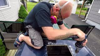 Truck build PT 2 ( 12 volt Fan) RV Ceiling Fan