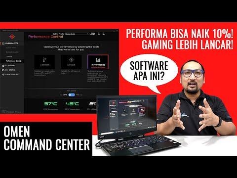 Performa Laptop Gaming HP Bisa Jadi Lebih Kencang? - Mengenal Omen Command Center (Bhs. Indonesia)