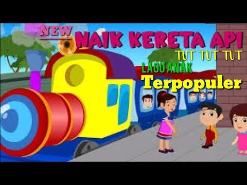 NAIK KERETA API - Lagu Anak Indonesia Terpopuler    Gamila Naik Odong-Odong Kereta