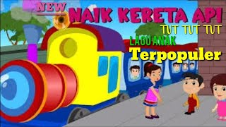 NAIK KERETA API - Lagu Anak Indonesia Terpopuler || Gamila Naik Odong-Odong Kereta