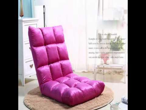 Lazy Sofa Bean Bag Folding Chairs - YouTube