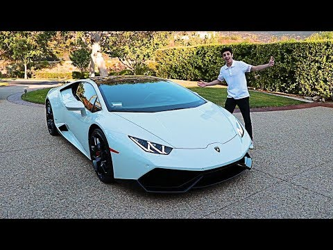 MY BRAND NEW CAR!! (I GOT THE LAMBORGHINI)
