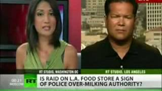 US Govt Raid Small Farmers, Health Stores, Organic Markets