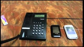 How to make conference call using landline
