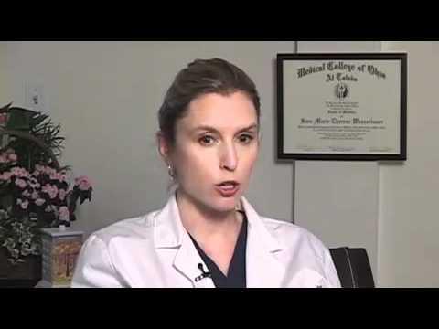 Who should diagnose hair loss?