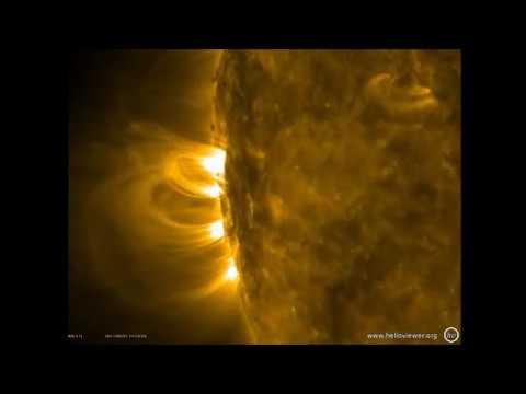 Massive hole in sun