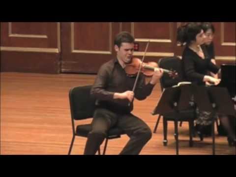 Schubert Trio in E flat Major for Violin, Piano, and Cello
