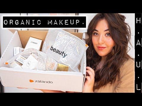 Zalando Beauty Haul I Organic Makeup Tutorial thumbnail