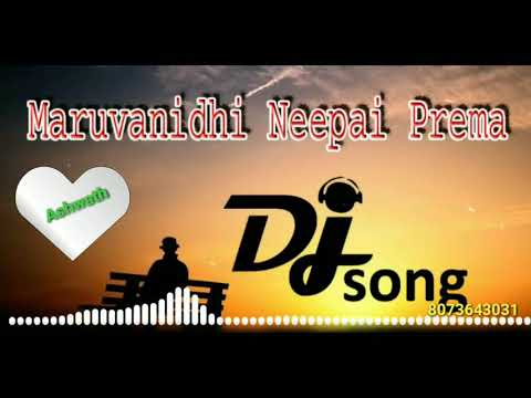 Maruvanidhi Neepai Prema Dj Love Failure Song 2020  Heart Touching Love Failure Song Telugu  Dj