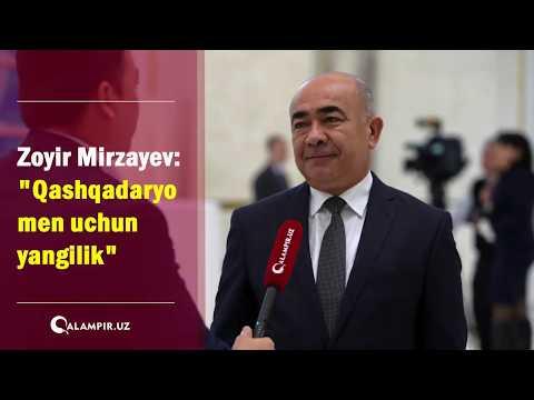 """Zoyir Mirzayev: """"Qashqadaryo men uchun yangilik"""""""