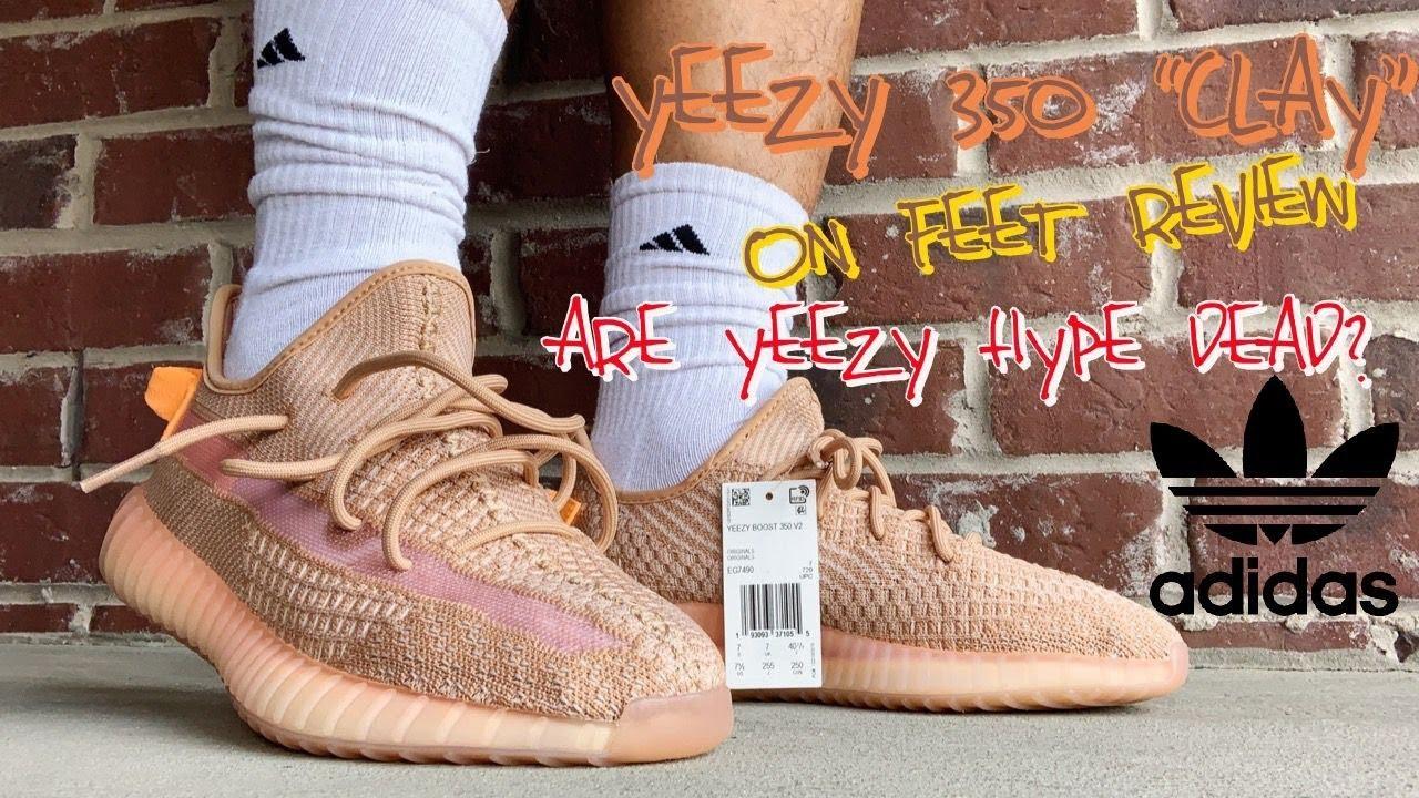 v2 clay on feet