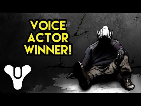 Destiny Comic Voice Actor Winner