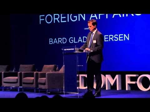Bard Glad Pedersen - Remarks From the Norwegian Ministry of Foreign Affairs