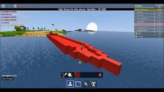 ROBLOX Build: Titanic I Build A Boat And Sail I Bottom To Middle I Part 1