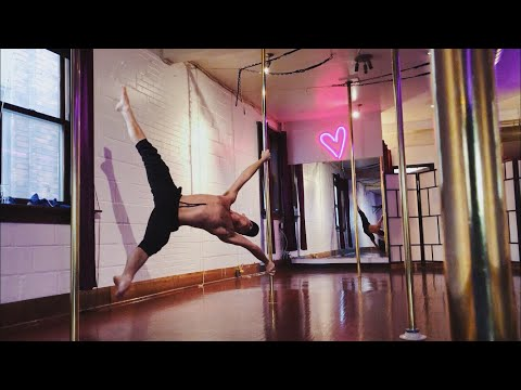 SZA - Go Gina (VEVO Stripped) | Male Pole Dancing