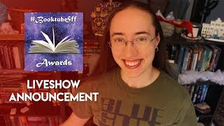 #BooktubeSFF Awards Liveshow Announcement | 2018