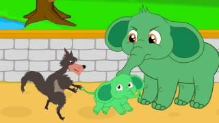 Um Elefante se balançava - com Chapeuzinho Vermelho - Video Musical infantil com Os Amiguinhos thumbnail