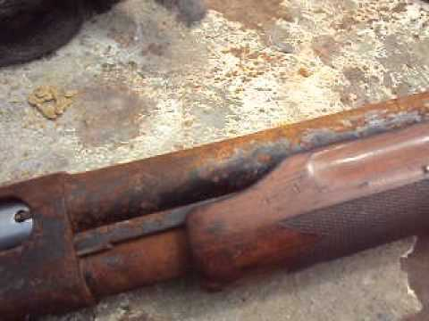 Gunsmithing  An 870 Remington Rusted & Seized Up Pt1