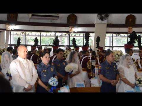 PNP hosts mass wedding on Valentine's Day