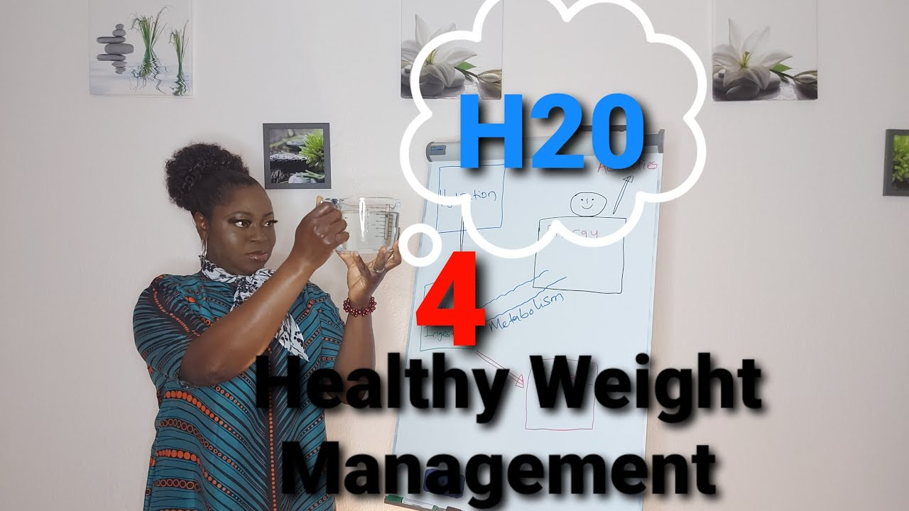Hydration and Healthy Weight Management. Weight loss aid. Healthy bodies. Water for life.