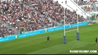 Football-Rugby in France 2013 Toulon Marseille 2nd half