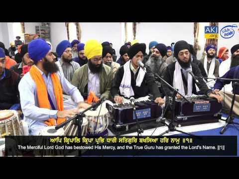 Harpanthpreet Singh Gurdaspur | Asa Ki Vaar Shakka 11-15 | Brisbane Akhand Kirtan Smagam 2017