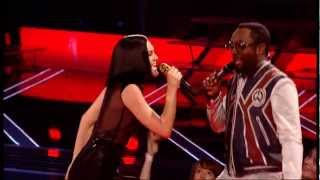 the voice uk final show jessie jay danny o donoghue tom jones will iam sing together