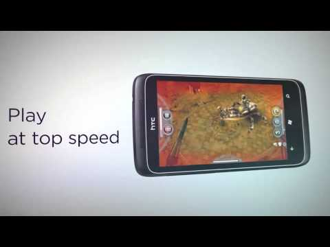 HTC 7 Trophy Video Demo
