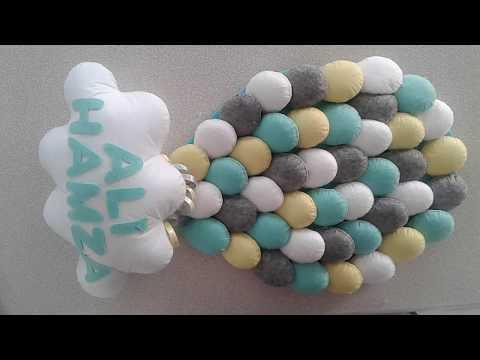 Keçeden Balon Kapı Süsü Yapımı | DIY Balloon Door Decoration