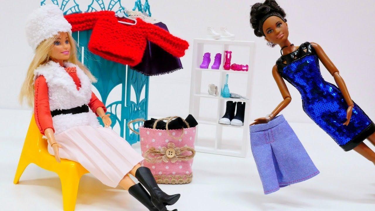 barbie braucht warme kleider f r den winter. Black Bedroom Furniture Sets. Home Design Ideas