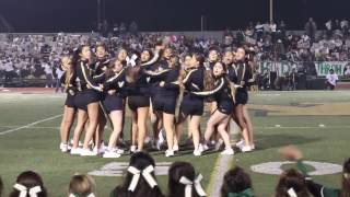 Watsonville High vs PV Cheer Halftime 2016