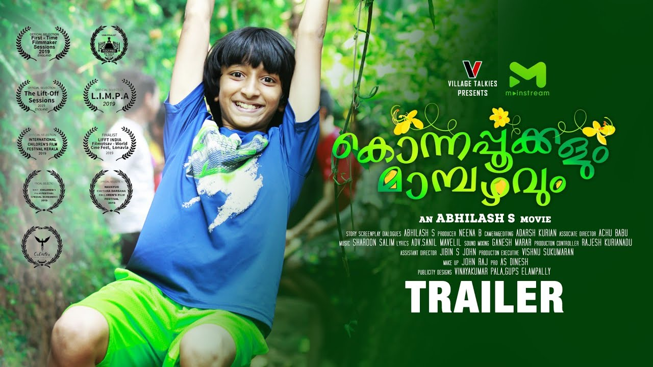 Konnapookkalum Mambazhavum Official Trailer | Jaiden Philip | Mainstream TV