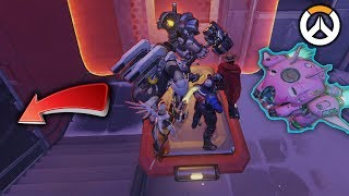 OVERWATCH ► FUNNIES, FAILS & CRAZY MOMENTS #74