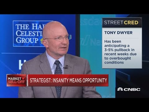 Trade war worries creating 'insanity' in the market, Wall Street bull Tony Dwyer says