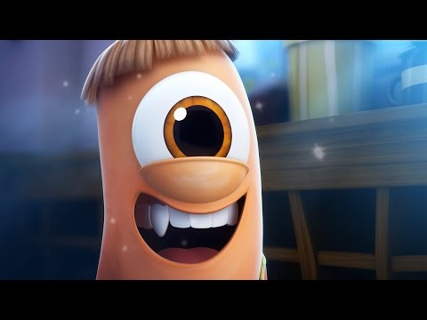 Funny Animated Cartoon   Spookiz Kebi's Mission to Space 스푸키즈   Cartoon for Children