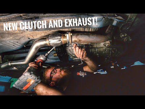 Seat Time Z Refresh   New Clutch and Trans Install!