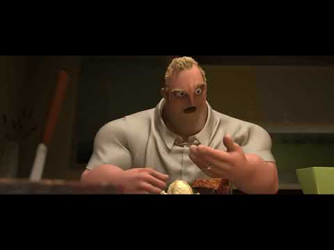 Incredibles Dinner Scene Dub with SFX - YouTube