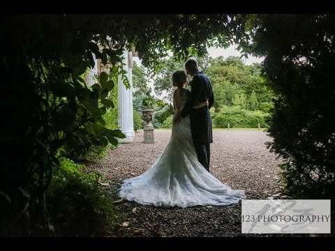 Sarah and Dan's wedding photography Walcot Hall Scunthorpe