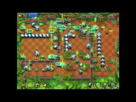 FieldRunners - Mudslide Classic Hard Strategy